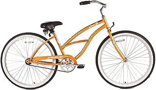 Micargi Pantera Beach Cruiser Bike, Orange, 26-Inch