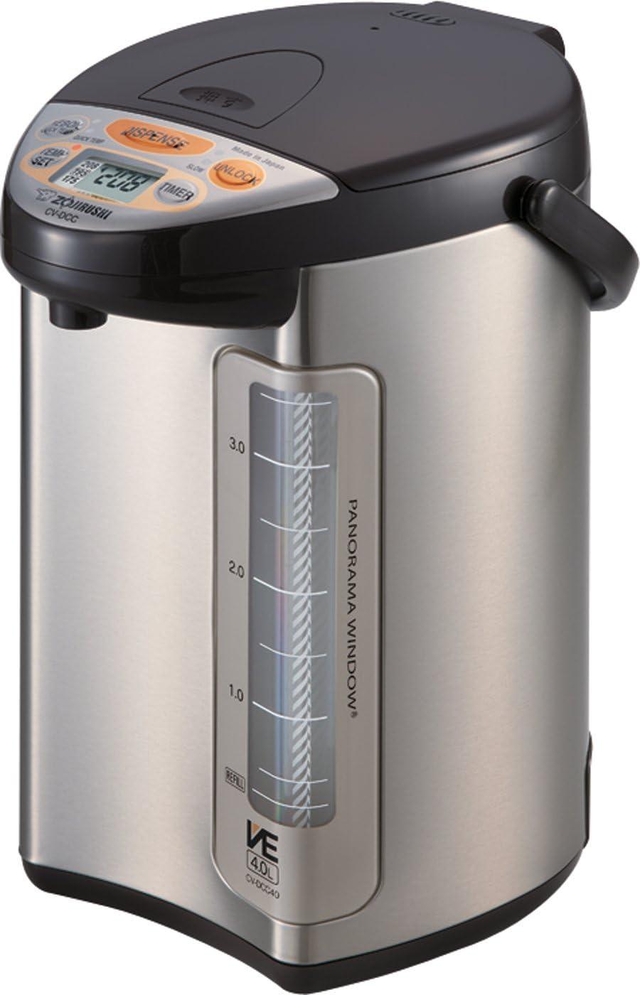 Zojirushi America Popular Corporation Genuine Free Shipping Hybrid Water Boiler Warmer And 4-
