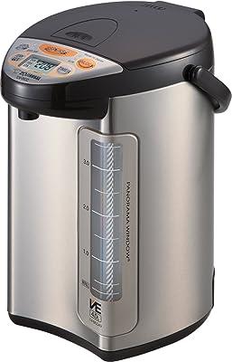 Zojirushi America Corporation Hybrid Water Boiler and Warmer, 4-Liter, Stainless Dark Brown