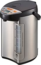 Zojirushi America Corporation CV-DCC40XT Hybrid Water Boiler And Warmer, 4-Liter, Stainless Dark Brown