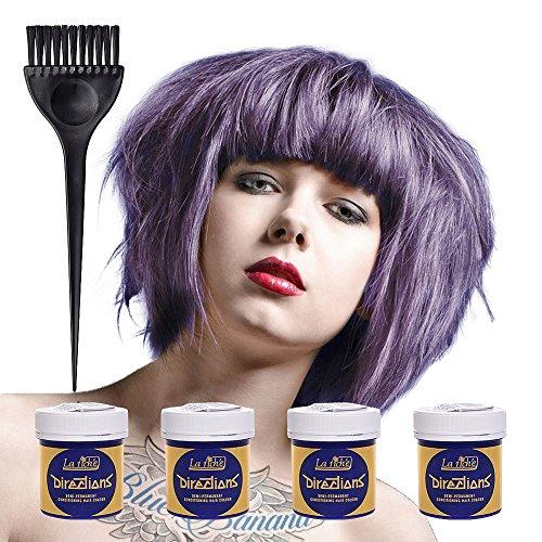 4 x LaRiche Directions Haartönung lilac 88 ml