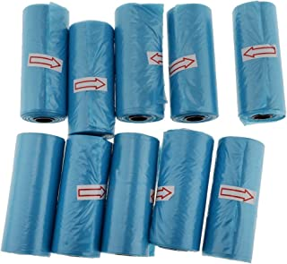 Perfeclan 10 Roll 150pcs Baby Disposable Diaper Nappy Bag Refill Rolls, Eco-Friendly Waste Sacks, Trash Cleaning Supplies