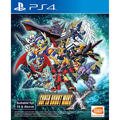 SUPER ROBOT WARS X ENGLISH SUBS region free PS4