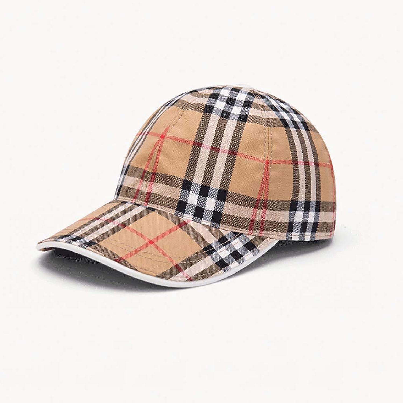 SLH Men's Stripes Fashion Baseball Cap Spring and Summer Sun Cap Tide Cover Sun Hat