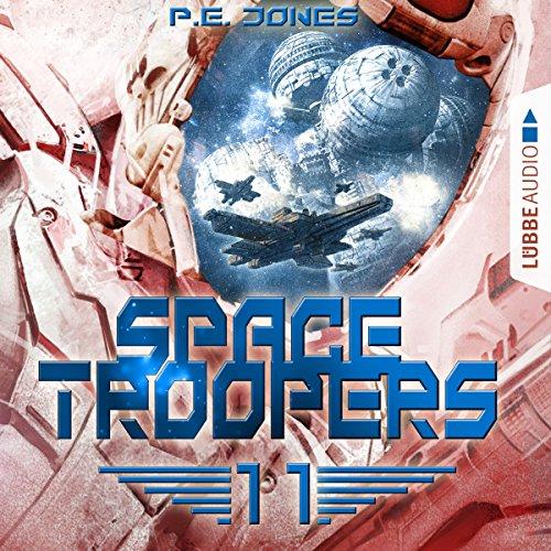 Der Angriff (Space Troopers 11) Titelbild