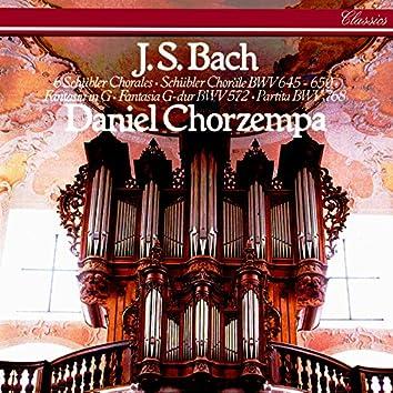 "Bach, J.S.: Six Schübler Chorales; Fantasia in G major; Partita sopra ""Sei gegrüsset"""