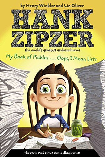 My Book of Pickles... Oops, I Mean Lists