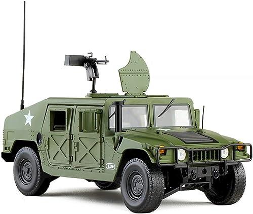varios tamaños GAOQUN-TOY 1 18 Hummer H1 Vehículo Militar Willis Willis Willis Jeep Modelo de Aleación de Aleación de Juguete Militar Colección de Juguetes Militares (Color   verde, Tamaño   25cm11cm10cm)  más vendido