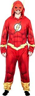 Justice League America The Flash Union Suit Costume Pajama