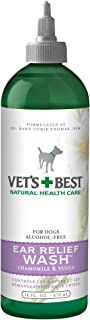 Vet's Best Ear Relief Wash For Dogs, White, 16 oz