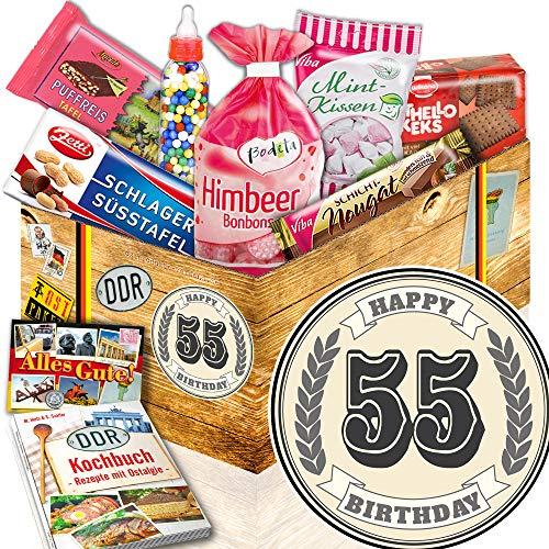 55. Geburtstag Geschenk / Süße DDR Waren / Geschenke 55 Geburtstag Mann lustig