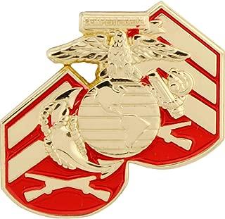 US Marine Corps Logo Rank Emblem USMC Lapel Pin