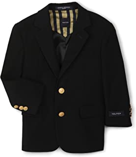 Nautica Boys' Brass Button Blazer Jacket