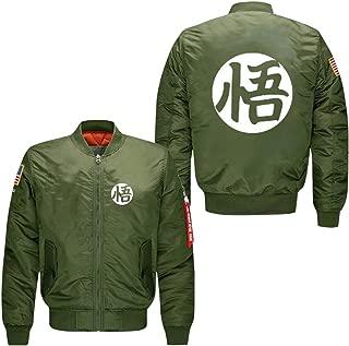 goku green bomber jacket