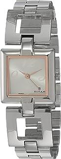 Titan Purple Analog Silver Dial Women's Watch -NM2484SM01 / NL2484SM01