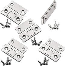 YUOIP® Ultra Dunne Sterke Magnetische Vangst Roestvrij Staal Kast Magnetische Deur Vang voor Kabinet Meubilair Garderobe (...