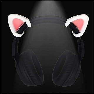 Cute Pink Cat Ears Fits for HypreX Cloud/Cloud II/Cloud Flight Headphones,Universal Fit Lovely Kitty Adjustable Attachment...