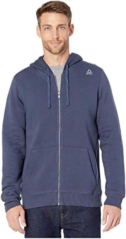 Reebok Men's Training Fz Sale price Essentails Fleece Cheap mail order specialty store