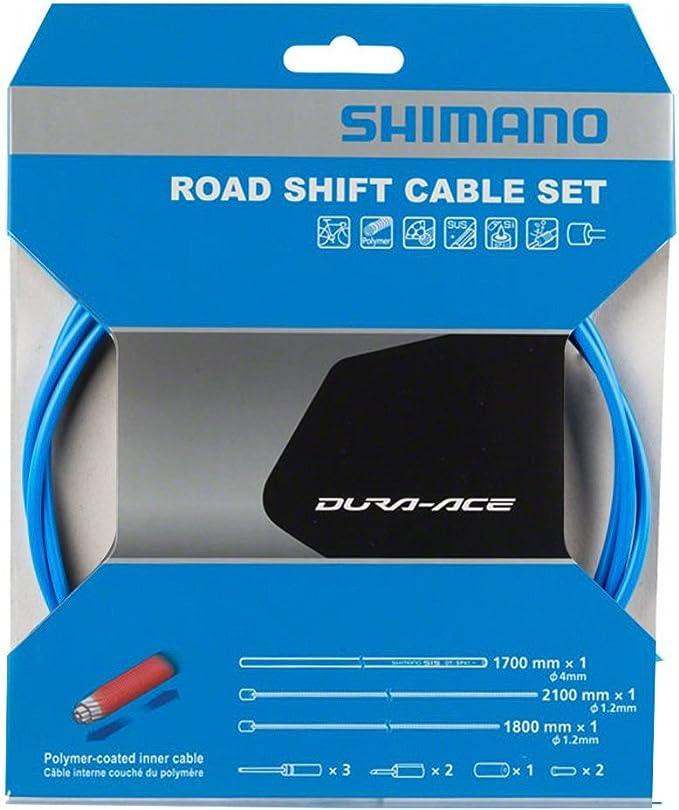 SHIMANO MTB Polymer Coated Shift Cable Set for Rear Derailleur Black Y01V98112