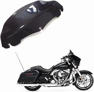 pour Harley Electra Street Glide Touring FLHT FLHTC 1996 + 13 cm 12,7 cm Artudatch Pare-brise de moto