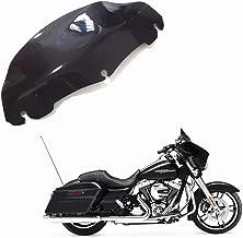 Windschutzscheibe Motorrad-Windschutzscheibe Windschutzscheibe CNC-geschnitten Artudatech Motorrad-Windschutzscheibe f/ür Touring Electra Street Tri Glide 1996-2013