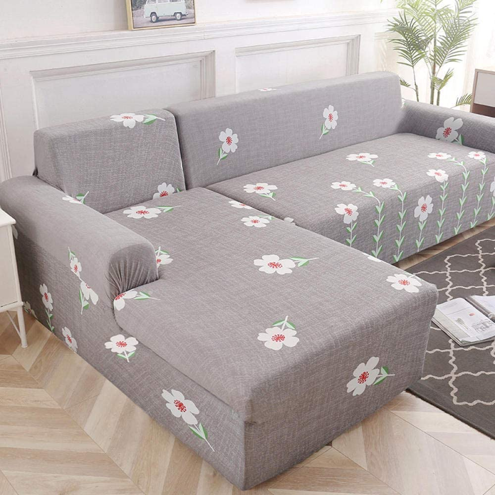 Fsogasilttlv Sofa Slipcover Limited price Easy Fit Seattle Mall Elastic 4 Seater So Stretch