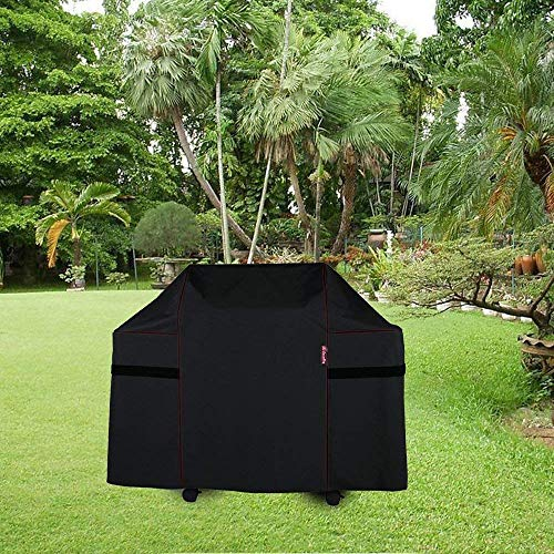 BBQ Coverpro 7553|7107 Barbecue Grill Cover for Weber Genesis E and S series Gas Grills Including Basting Brush and Tongs
