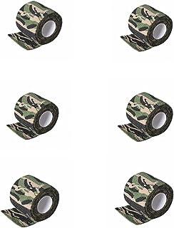 ZRNG 12 Stks Wegwerp Coenift Tattoo Grip Cover Zelfklevende Bandages Handvat Grip Buis voor Tattoo Machine Grip Accessoire...