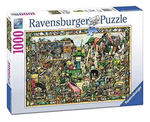 Ravensburger 19760 Puzzle Colin Thompson de schatten van eenmaal, 1000 stuks
