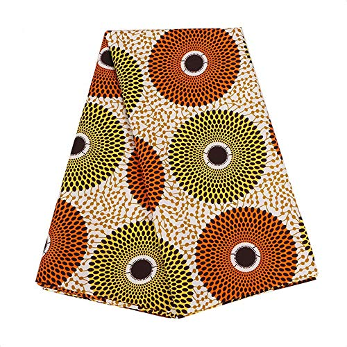 2020 Ankara African Polyester Wax Prints Fabric REALWAX 6 Yard African Fabric for Party Dress PL536 (pl536)