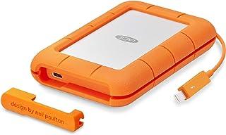 LaCie 莱斯 Rugged 5 TB 便携式硬盘 (USB 3.0, USB 3.1, USB-C, Thunderbolt)