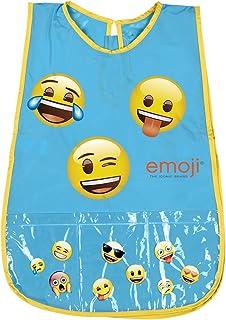 PERLETTI Delantal Infantil Impermeable Emoji Niño Niña -