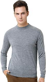 Grneric Autunno e Inverno 100% Maglioni di Cashmere metà Colletto Alto Pullover Sweater Maglia Lunga Manica Camicia di Fon...