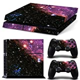 Mcbazel Pattern Serie Decals Vinyl Skin Aufkleber für Original PS4 Only (Not for PS4 Slim/Pro) Galaxy