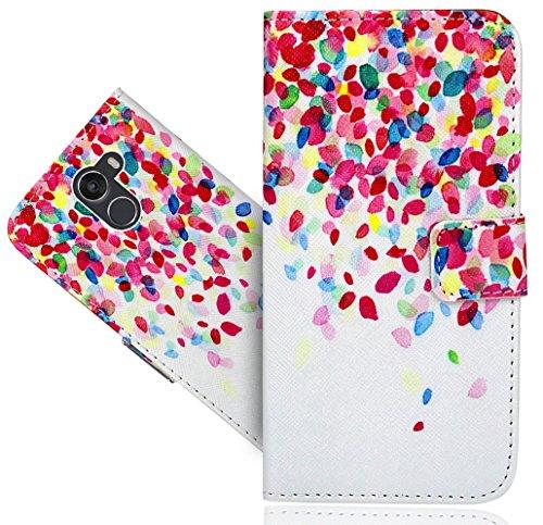 Wileyfox Swift 2X Handy Tasche, FoneExpert® Wallet Hülle Flip Cover Hüllen Etui Hülle Ledertasche Lederhülle Schutzhülle Für Wileyfox Swift 2X