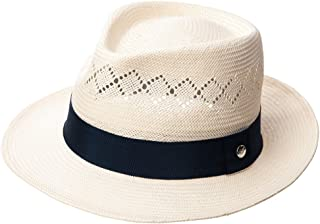 97cfec15 Fedora Straw Fashion Sun Hat Packable Summer Panama Beach Hat Men Women  56-62CM