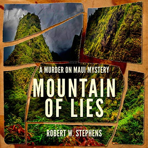 『Mountain of Lies: A Murder on Maui Mystery』のカバーアート