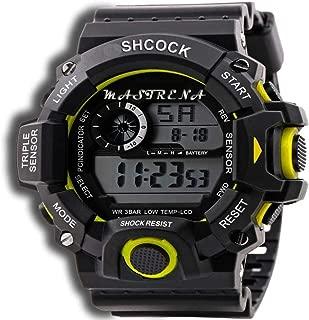 S-SHCOCK Series 7 Light Water Resistant Digital Watch - for Men- SHOCK87