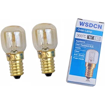high temperature resistant bulb WSDCN W555-B T300 25W 240V ceramic oven bulb