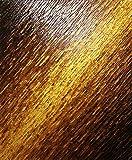Malerei Design : Brown-Goldmesserbeschaffenheit (61 x 50 cm).