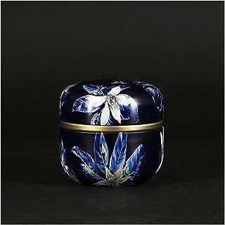 Grande Aluminium Bleu en forme de larme Urne fun/éraire pour adulte ou pour animal domestique Chien cendres Cremains Memorial