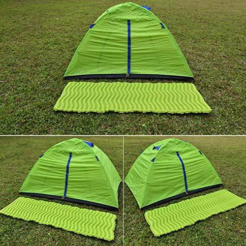 SALUTUYA Material de compresión Saco de Dormir Saco de Dormir Ultra cálido y Ligero Durable, para Viajes, acampadas, para Senderismo, mochileros y acampadas(Bihai Green)