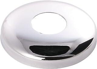 Kraanrozet   18 mm of 3/8 inch   buitendiameter 61 mm   hoogte 15 mm   rozet   metaal verchroomd 27 mm oder 3/4 inch 27 Mm...