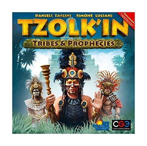 ツォルキン:マヤ神聖歴拡張セット 部族と予言 (Tzolk'in: The Mayan Calendar:Tribes and Prophecies) ボードゲームの詳細を見る