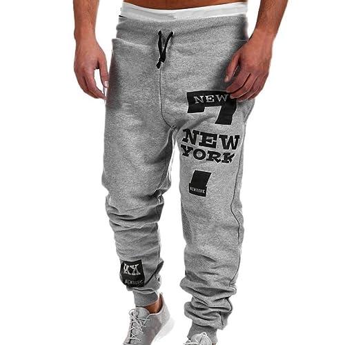 7af3c4a2b4dd Mens Fashion Trousers Men Pants Casual Pants Sweatpants
