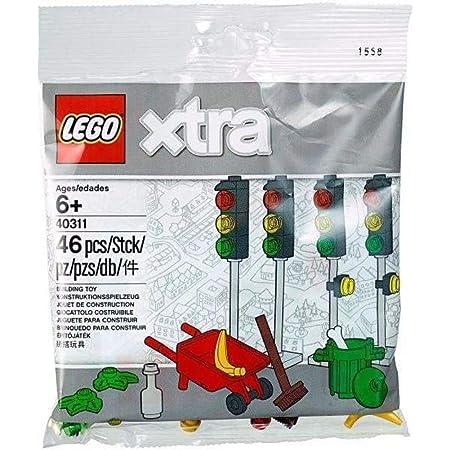 LEGO 40341 XTRA SEA ACCESSORIES POLYBAG shark surfboard parrot seashell harpoon