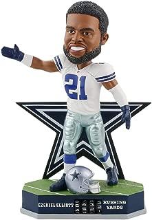 Forever Collectibles Ezekiel Elliott Dallas Cowboys Fantasy Football Rushing Yards Bobblehead NFL