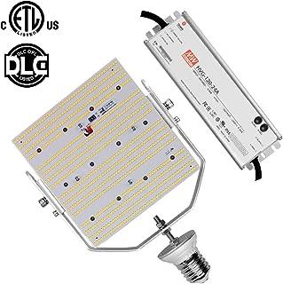 120W LED Retrofit Kit, Daylight 5000K E39 Mogul Base Commercial Parking Lot 480V 347Volt Replace 400Watt Metal Halide Shoebox Pole Lights AC185-528V Input (120)