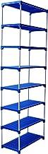 Savya home® Multipurpose Rack 8 Shelves Book Shelf Shoe Rack (8 Shelf)