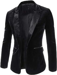 Fashionable Men Suit Jacket Blazer Classic Slim Fit Blazer Comfortable Sizes Business Leisure Tuxedo Solid Color Christmas...